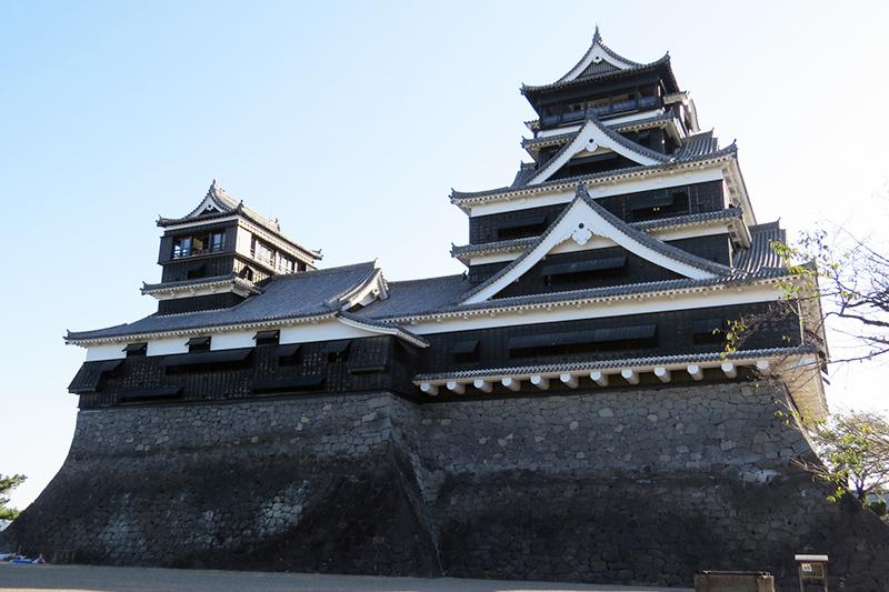 九州と剣道の歴史(熊本城)