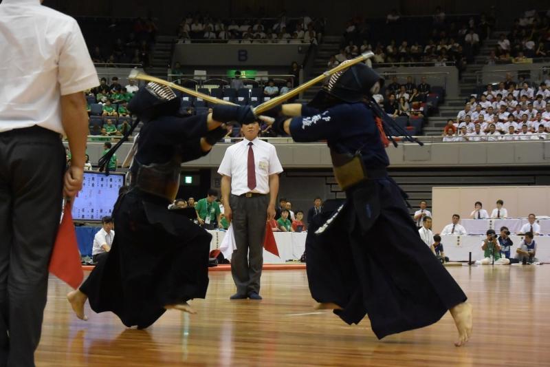 2回戦、岩部(水戸葵陵)×小川(九州学院)
