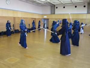 第12回社会人剣道練習
