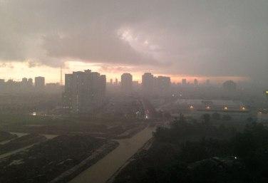 Gorgeous downpour.
