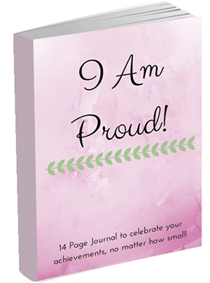 I Am Proud free printable journal by kendra kantor