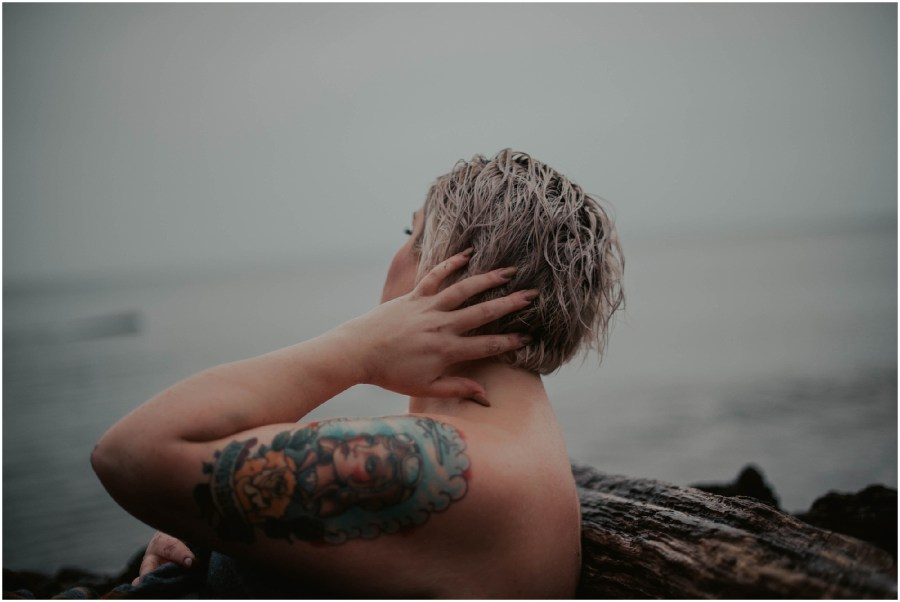 beach-boudoir, plus-size, plus-size-boudoir, boudoir, boudoir-photographer, boudoir-photography, boudoir-photos, boudoir-session, boudoir-photoshoot, rainy-boudoir, outdoor-rain-boudoir, rain-boudoir, outdoor-boudoir, boudoir-inspiration, tatted-girls,