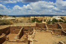 Atsinna Pueblo Ruin at El Morro in Ramah, New Mexico.