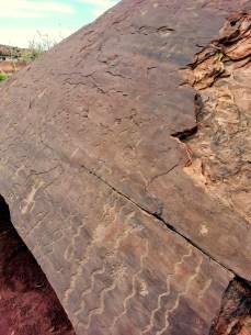 Petroglyphs at Lyman Lake in St. Johns, Arizona. (Photo/Kendra Yost)