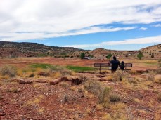 At the top of Petroglyph Trail at Lyman Lake in St. Johns, Arizona. (Photo/Kendra Yost)