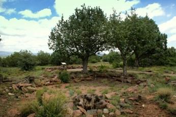 Evidence of a ruin at Shoofly Village in Payson, Arizona. Photo/Kendra Yost
