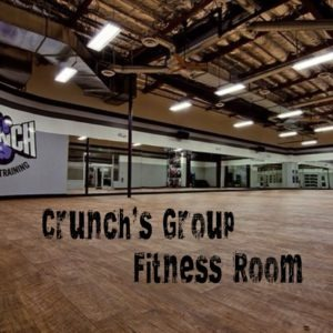 Crunch's Group Fitness Room