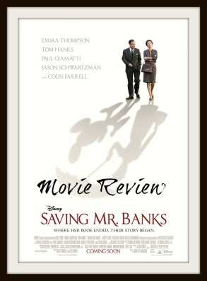 Saving Mr Banks Movie Review