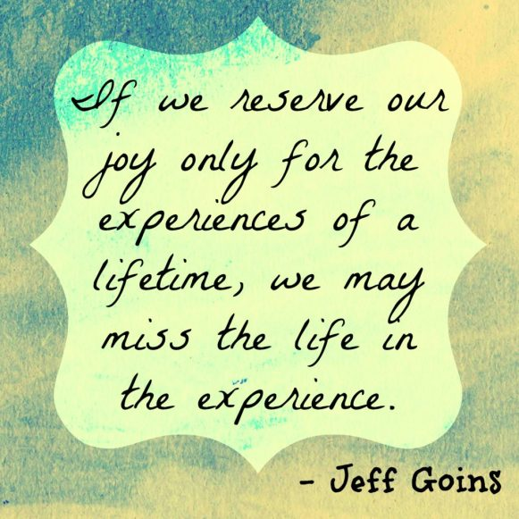 Jeff Goins Quote