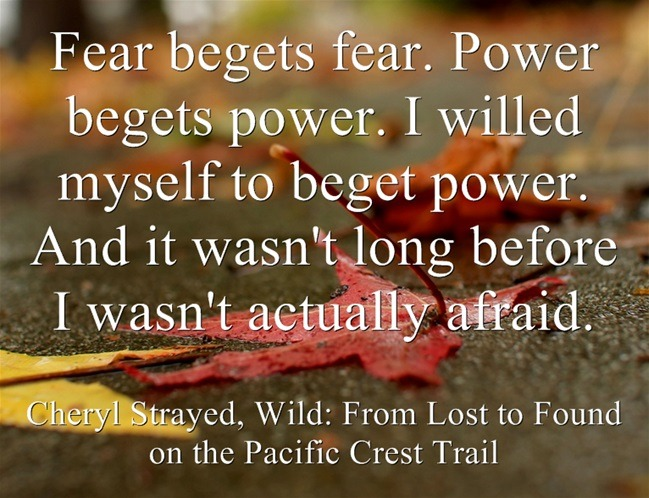 Cheryl Strayed on Fear