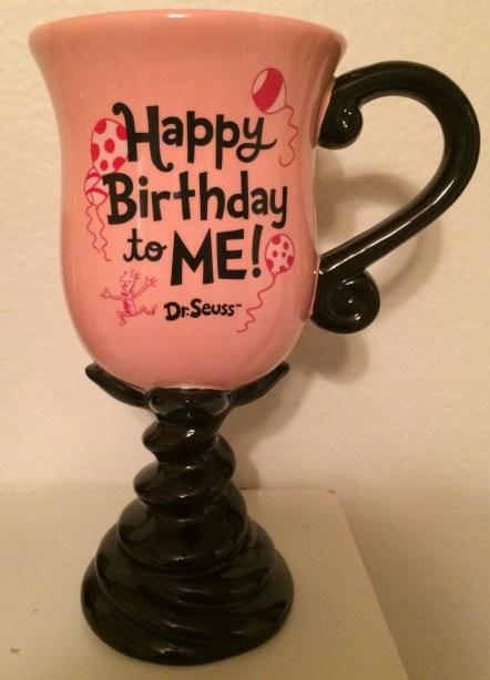 Dr. Seuss Birthday Mug