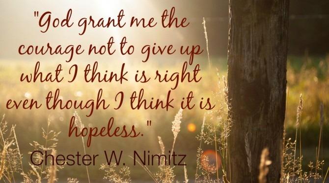 Chester W. Nimitz Quote
