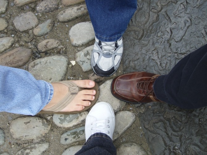 Four Family Feet