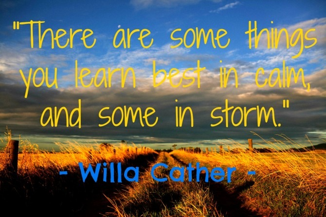 Willa Cather Quotable