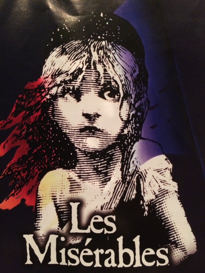 Les Miserables Play Bill