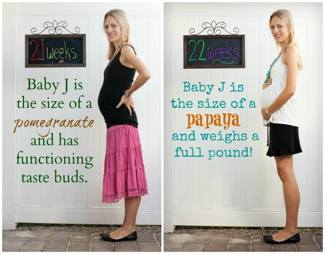 21 and 22 Weeks