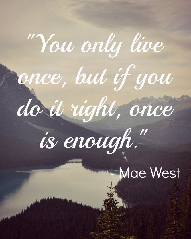 Quotable from Mae West