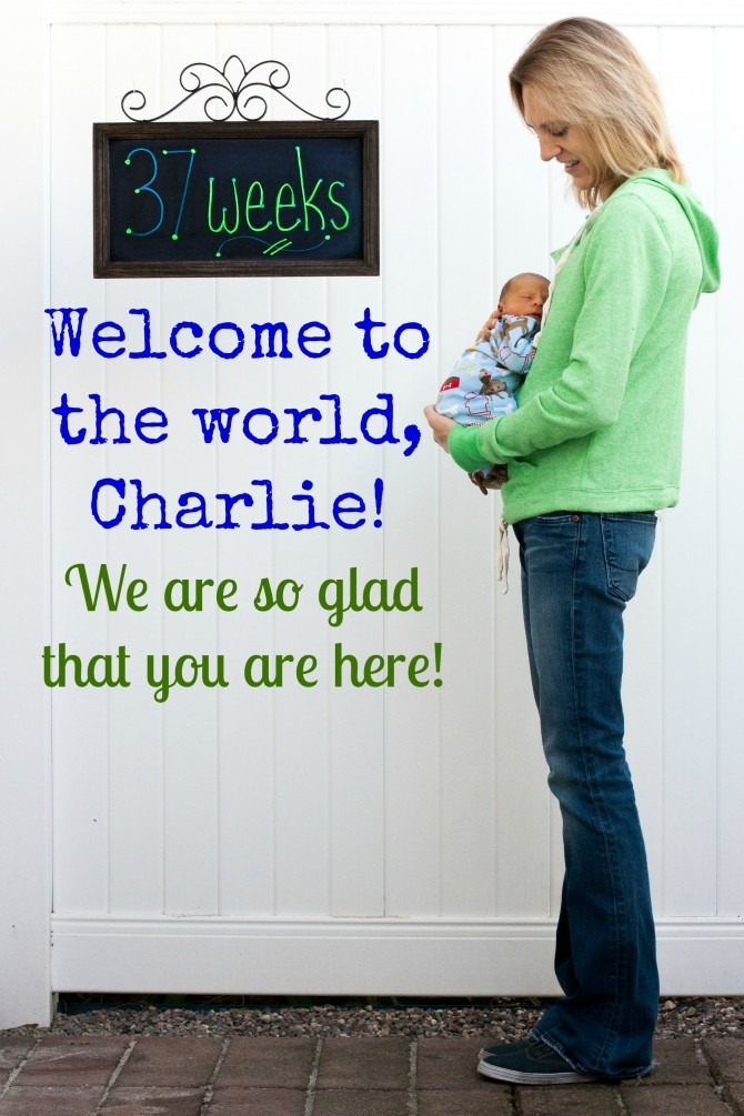 Welcome Charlie