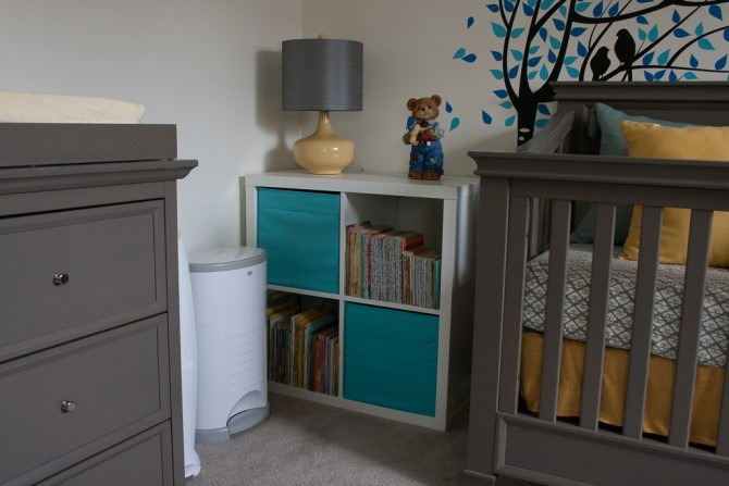 Charlie's Nursery Book Case 2