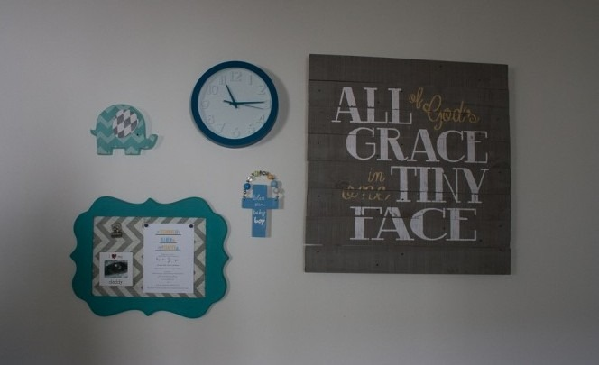 Charlie's Nursery Gallery Wall