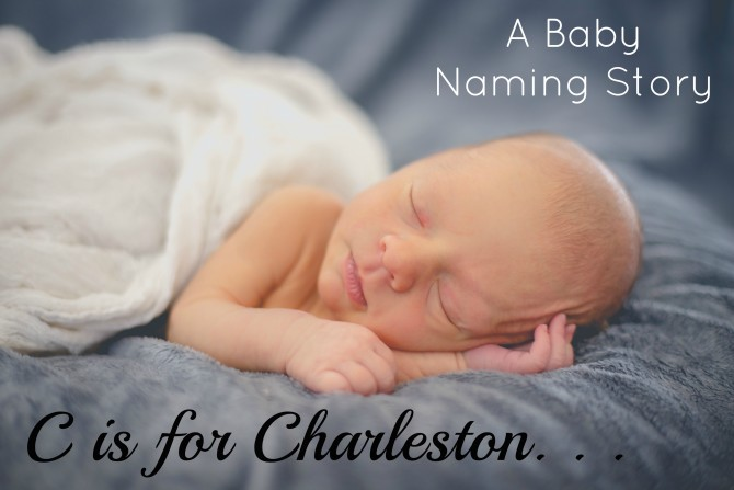 C is for Charleston