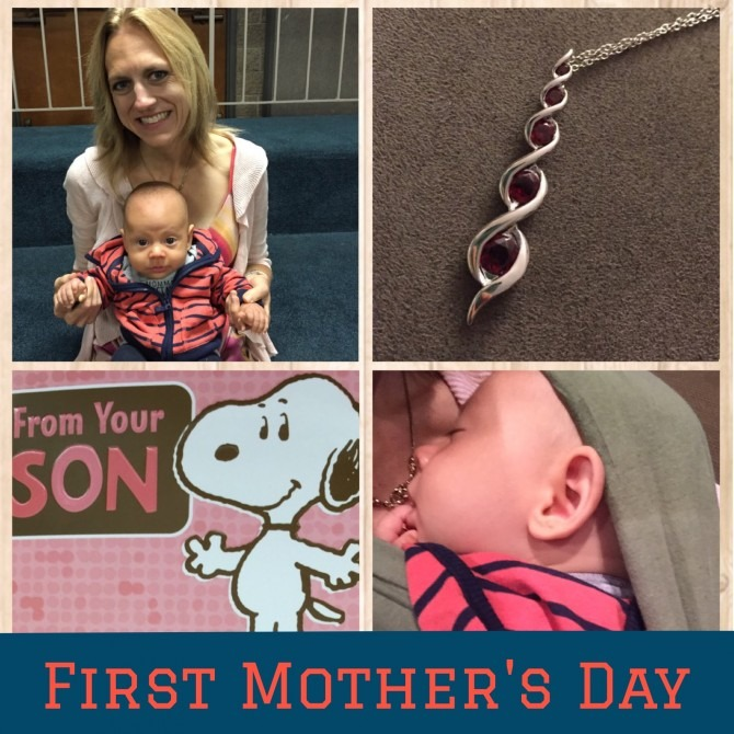 First Mother's Day Collage