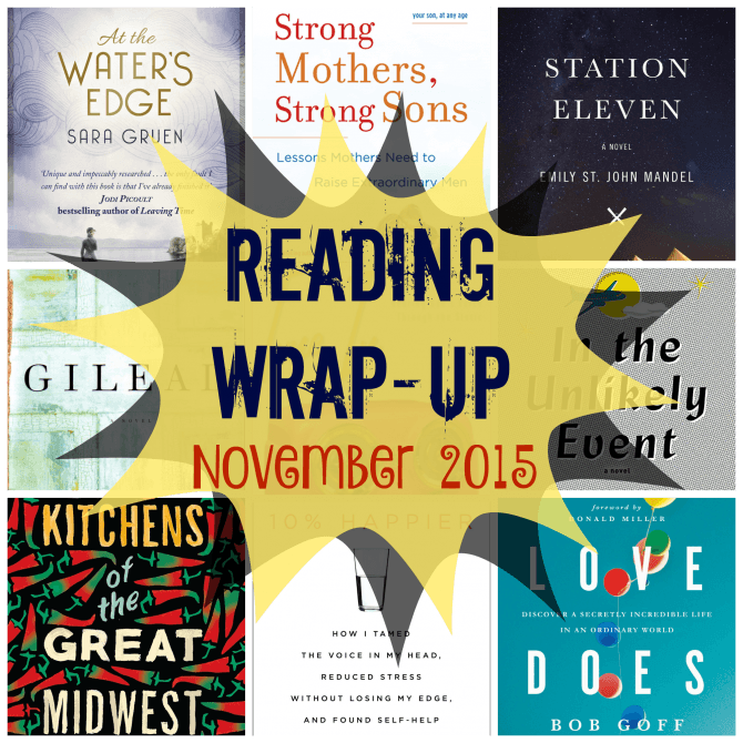 Reading Wrap-Up November 2015