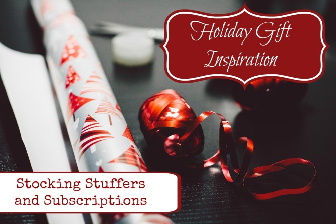 Stocking Stuffer and Subscription Gifts