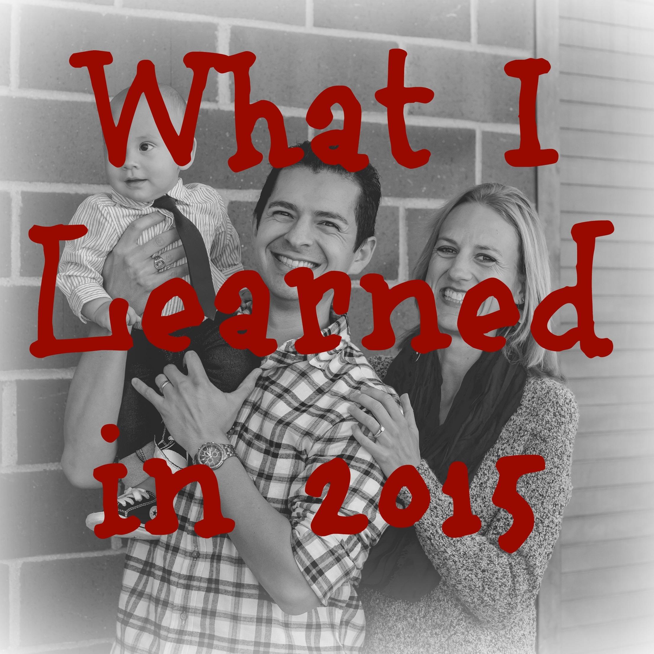 What I Learned in 2015