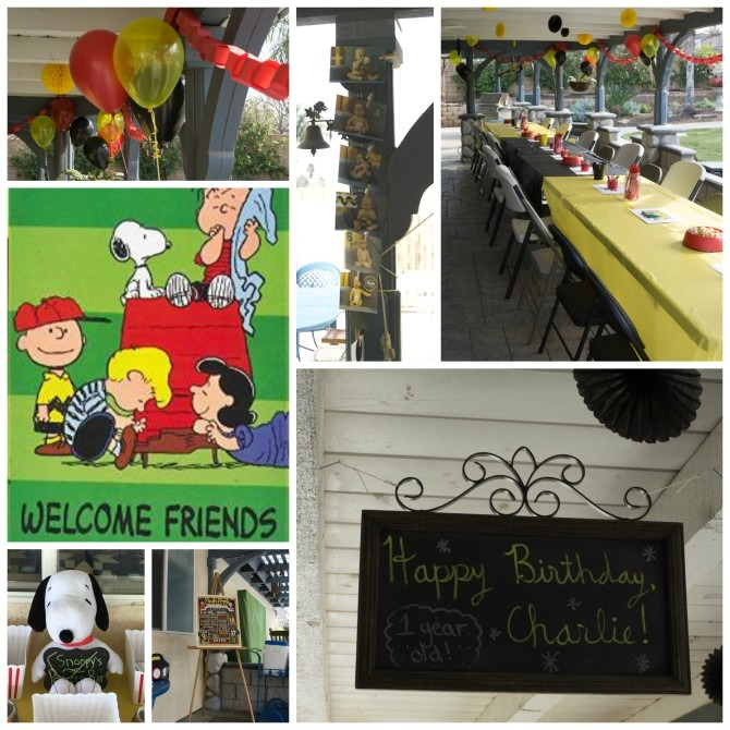 Good Grief! Charleston Turned One! (Our Peanuts Party