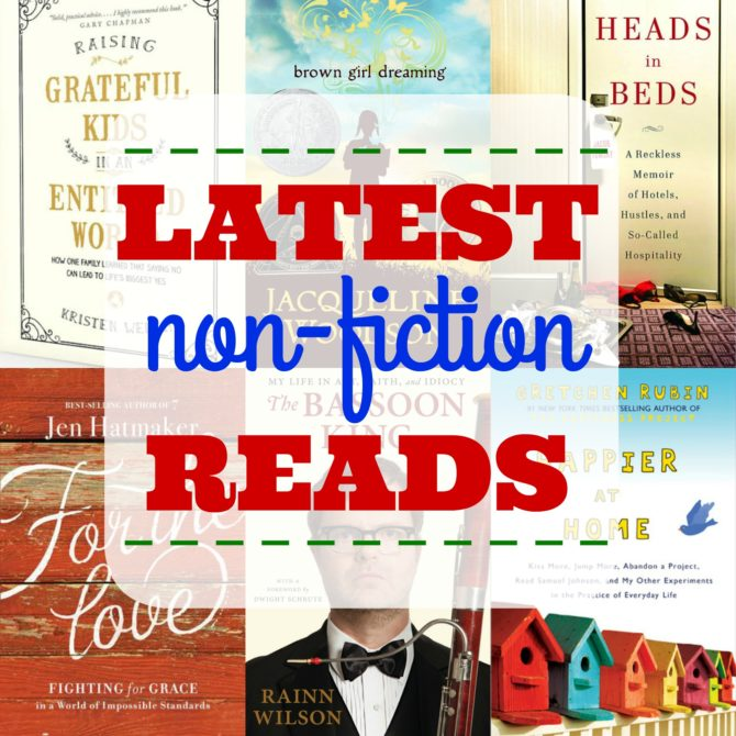 Latest Non-Fiction Reads