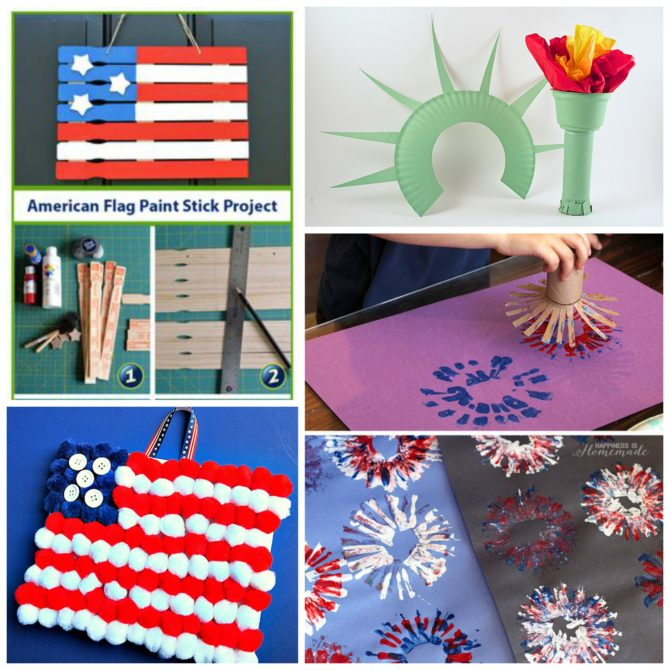4 Star-Spangled Crafts for Kids