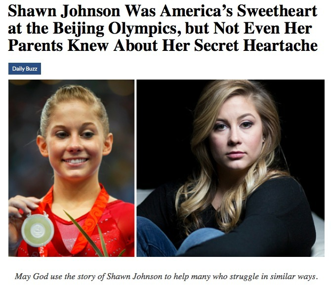 Shawn Johnson Video