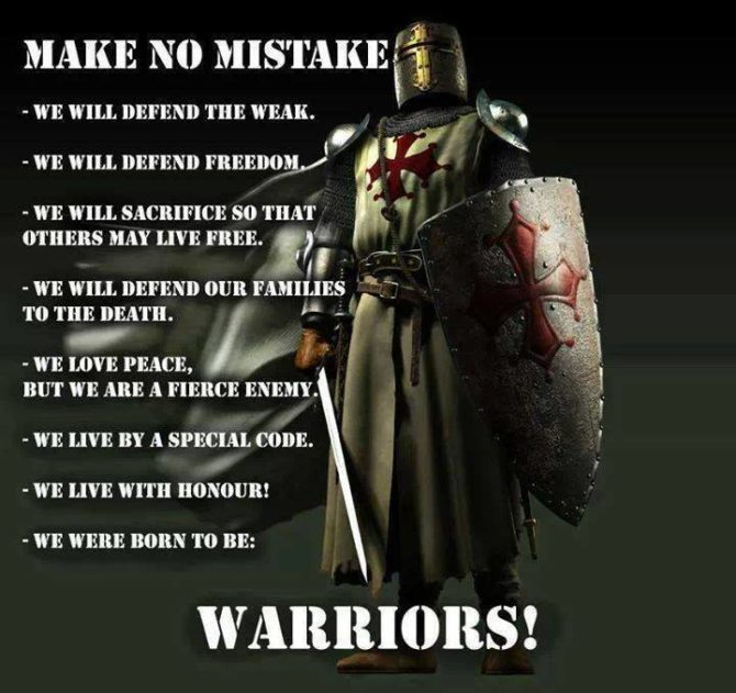 Templar Creed
