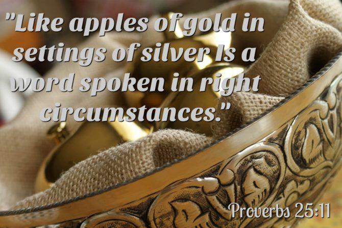 Proverbs 2511