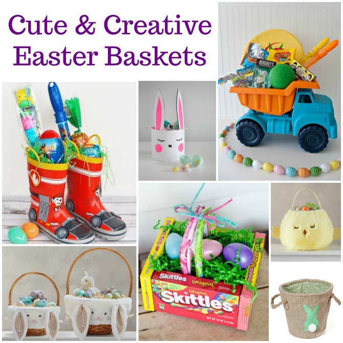 Easter basket filler ideas kendranicole bin thats what i always do but if youre looking for something fancier or even a basket you can make yourself there are some great options negle Choice Image