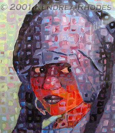 ©2001 Kendrea Rhodes all rights reserved SAHARAN BRIDE www.kendreart.com