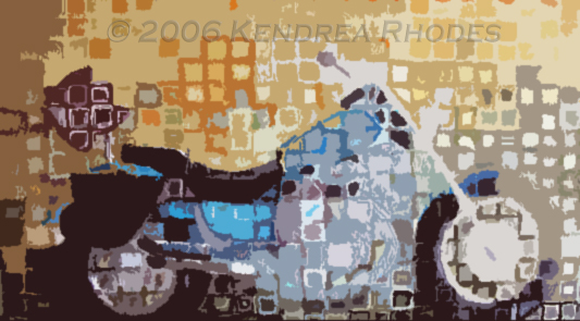 ©2006 Kendrea Rhodes all rights reserved BLUE CRUISER www.kendreart.com