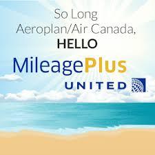 United Mileage Plus, Aeroplan vs United Mileage Plus