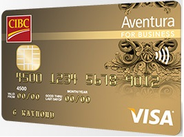 CIBC Aventura for Business - Earn 25,000 Points + No Annual Fee
