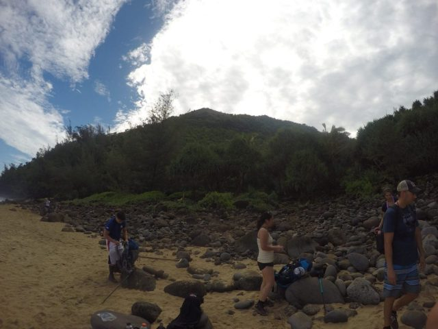 Hiking the Kalalau Trail, Hiking the Kalalau Trail – Day 1