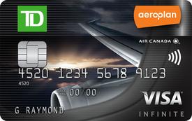 TD Aeroplan Infinite VISA - 30,000 Aeroplan Points