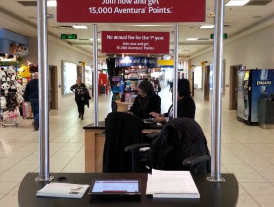 Earn 15,000 CIBC Aventura Points from an Airport Only Promotion