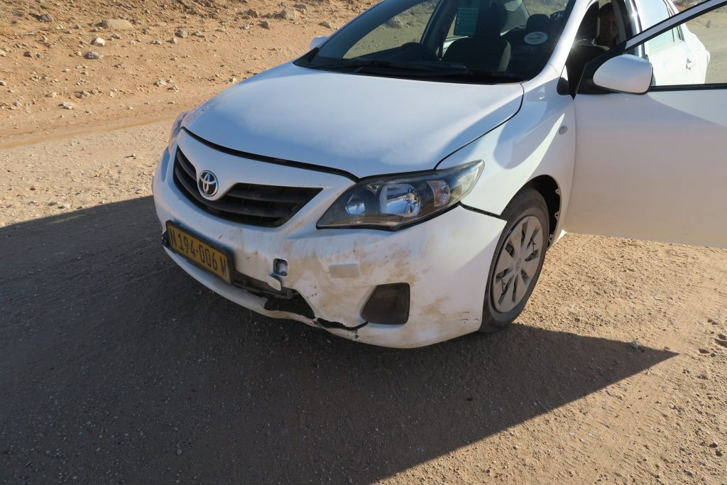 Car crash, Car Crash Nightmare in Namibia