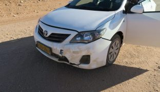 Car Crash Nightmare in Namibia