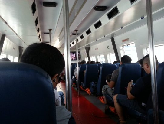 How to Cross from Brunei to Kota Kinabalu Malaysia by Ferry