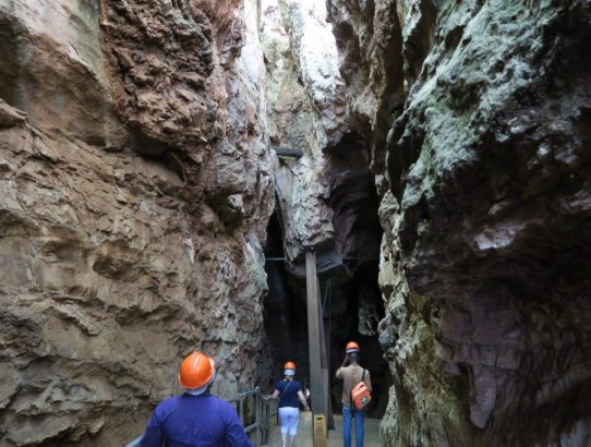 Exploring the Sterkfontein Underground Excavation Site in South Africa