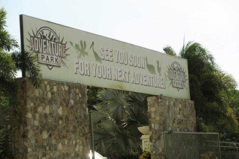 Port Moresby Adventure Park, Papua New Guinea: Visiting the Port Moresby Adventure Park and War Cemetery