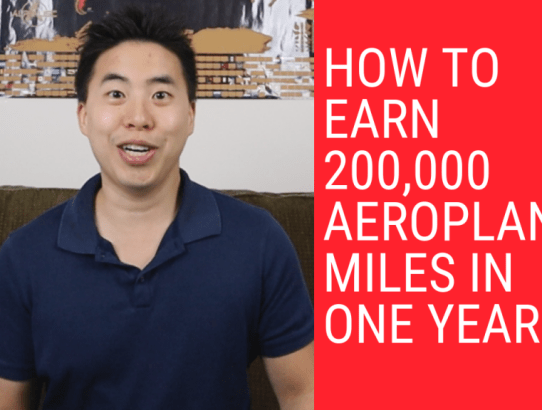 How To Earn 200,000 Aeroplan Miles In One Year VIDEO (LIMITED TIME STRATEGY)