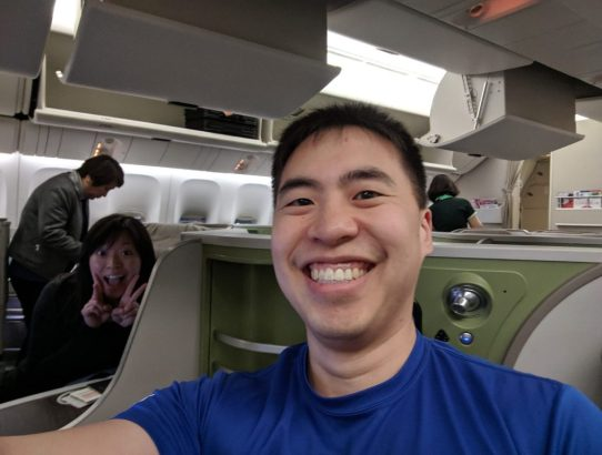 Eva Air Business Class Review - My Girlfriend's First Time in Business Class